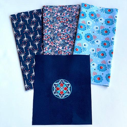 Kit Créatif ~ Mandala Bleu