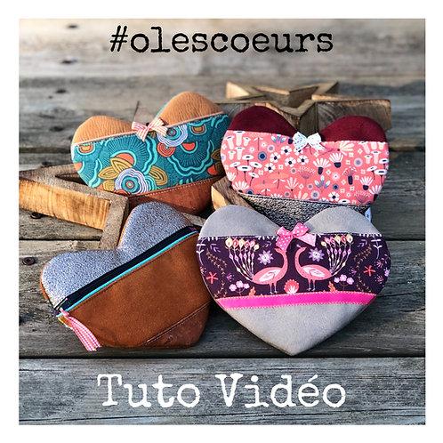 Tutoriel Pochette #olescoeurs - Code Promo TUTOGRATUIT