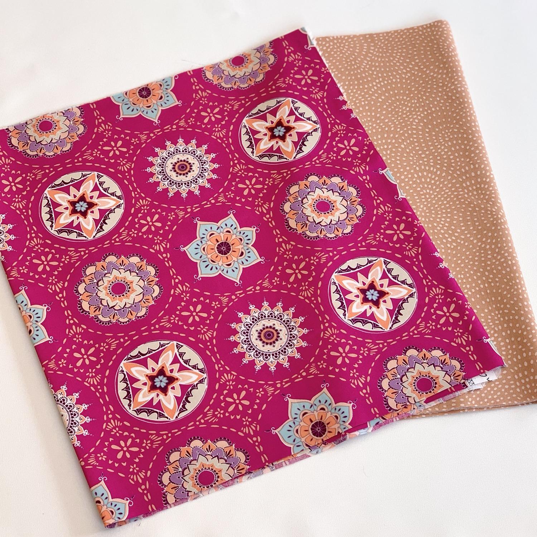 Kit créatif tissus - Mandala