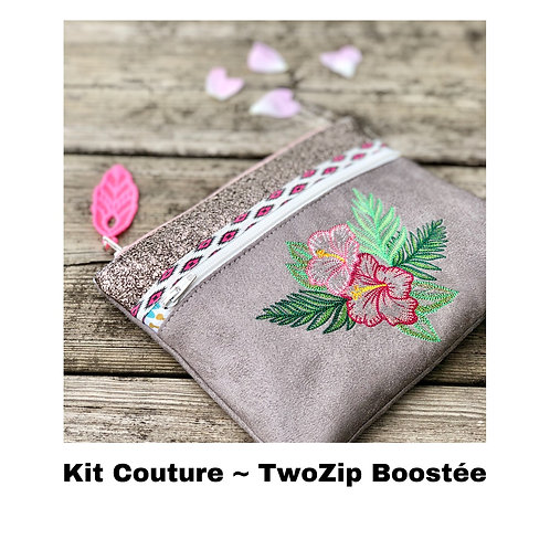 Kit Couture ~ TwoZip Boostée Hibiscus