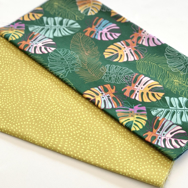 Kit créatif tissus - Jungle