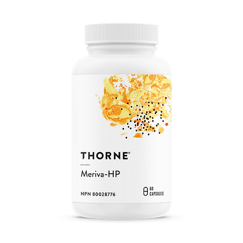 Thorne Research Meriva HP 60 caps ( High Potency) - Curcuminoids and Choline