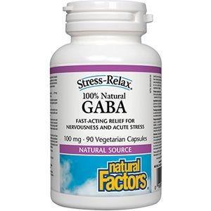NFactors GABA 100 mg 90 capsules