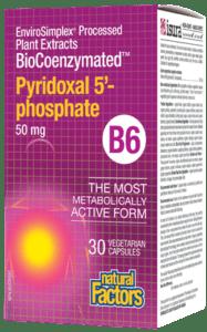 NFactors BioCoenzymated™ Pyridoxal 5'- phosphate B6 50 mg - 30's