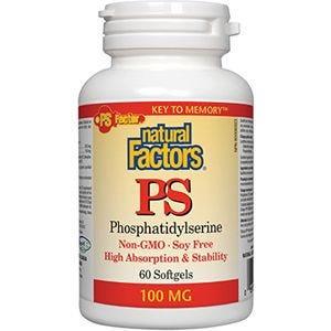 NFactors Phosphatidyl Serine  100mg 60 capsules