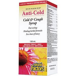 NFactors Echinacea Cold and Cough Syrup 150ml