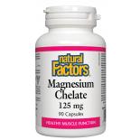 NFactors  Magnesium Chelate 125 mg