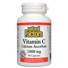 NFactors Vitamin C Calcium Ascorbate 1000 mg 90 capsules