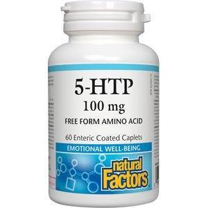 NFactors 5 HTP 100 mg  60caplets