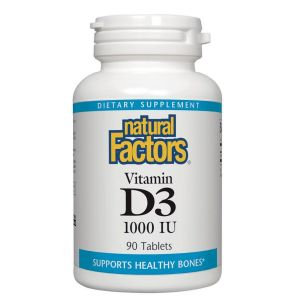 NFactors Vitamin D3 1000 IU 90 Tablets