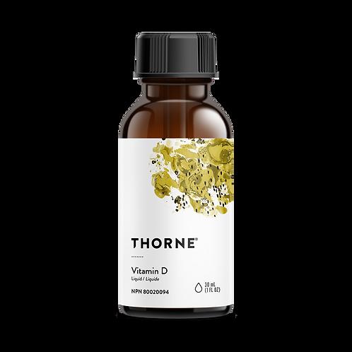 Thorne Research Vitamin D Liquid