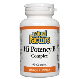 Natural Factors High Potency B Complex 50 mg capsules
