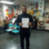 مبروك التخرج وإنهاء برنامج #اللغة_الإسبا