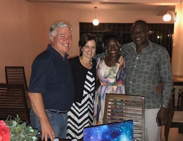 David & Prossy Balaba David - Mayor of Iganga