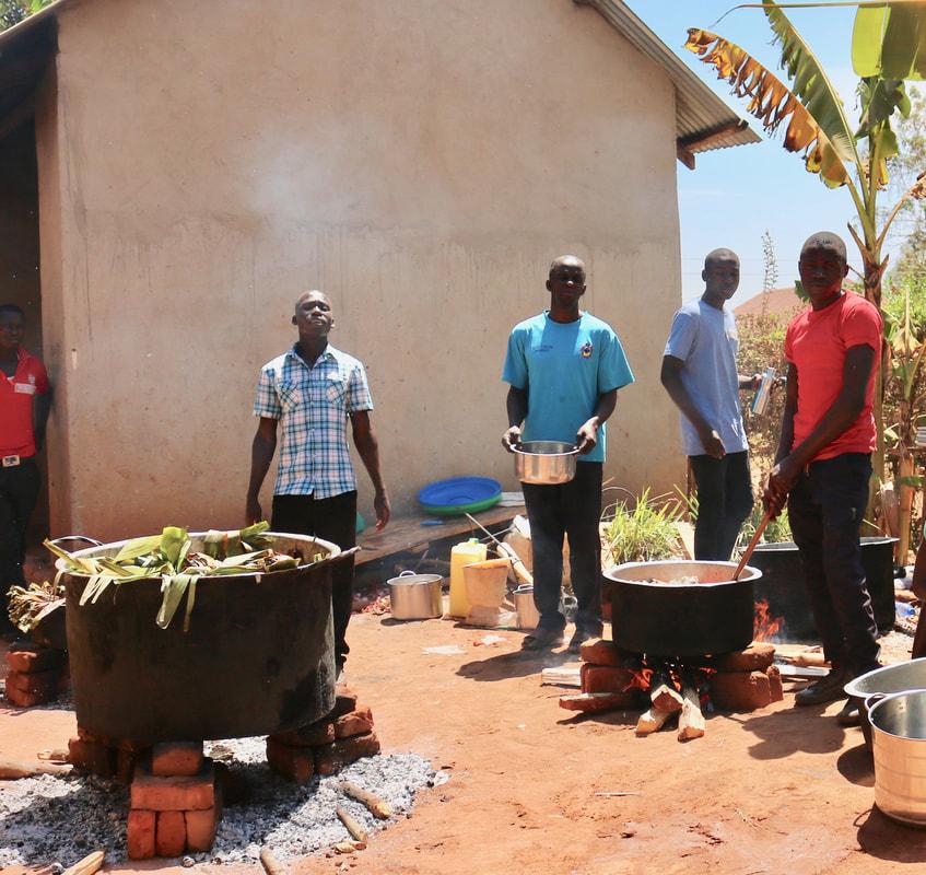 Kitchen & Staff
