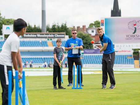 New Partnership with Yorkshire Cricket Foundation