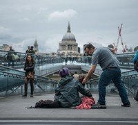 #homeless #giving #poor
