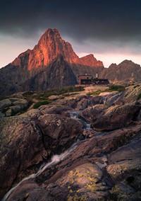 #mountain #rocky #stream
