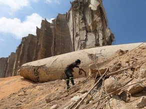 """Combi Lift: """"Lo que se ha encontrado equivale a una segunda bomba en Beirut""""."""