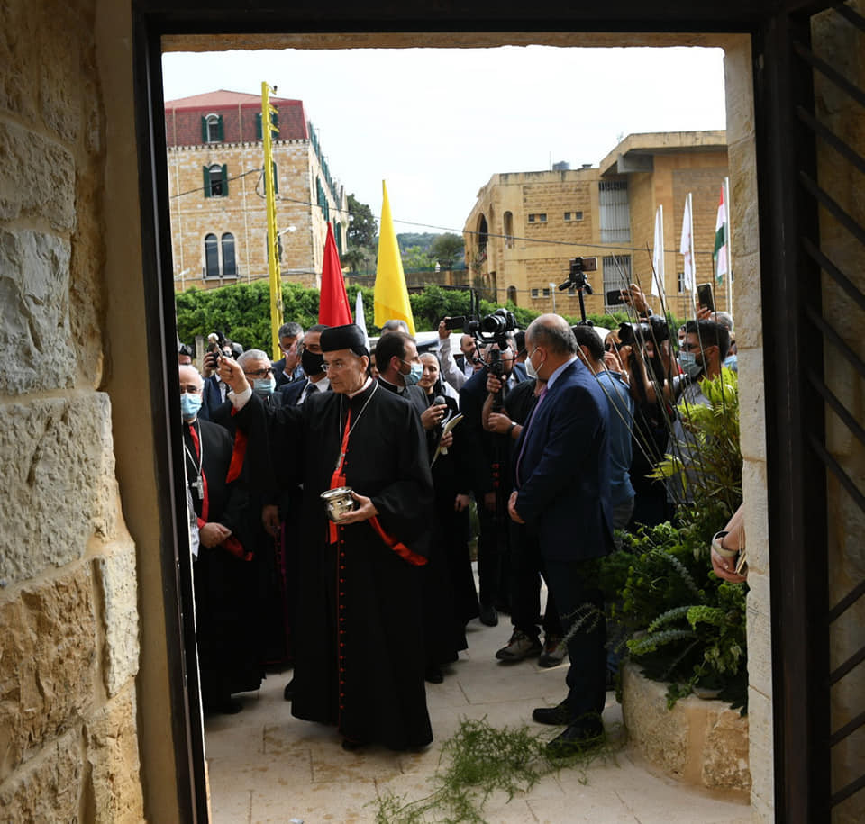 maronitas, patriarca, Aintoura, عينطوره