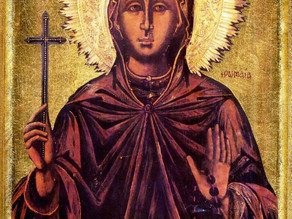 Dos martirios la hicieron santa... ¿quién es ella?
