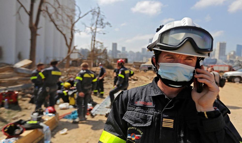 Maronitas, san Charbel, explosion Beirut, Blast