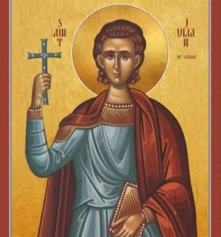 San Julián ... fue martirizado en el mar