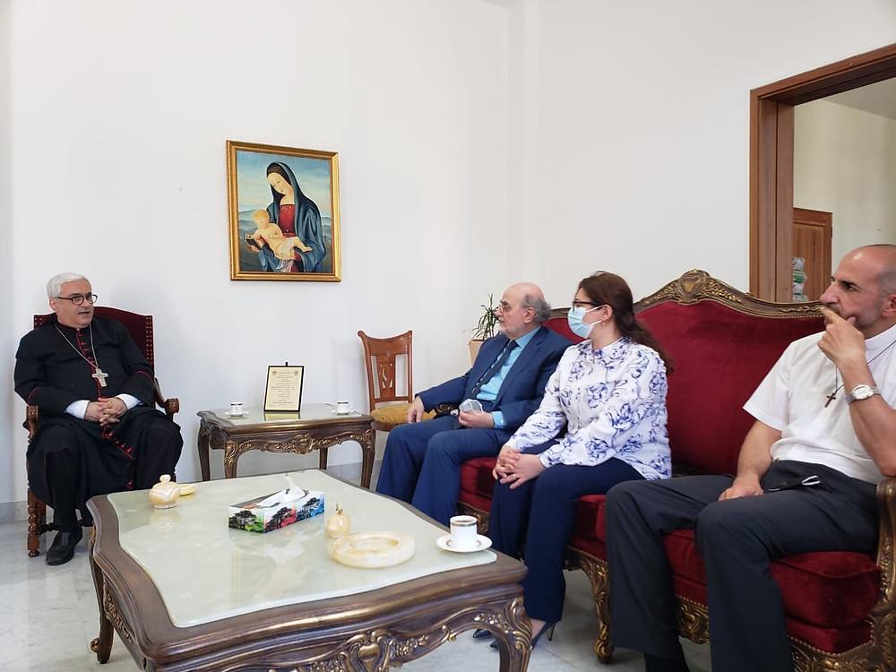 Maronitas, Beirut, MECC, Michel Abs,  Paul Abdel Sater
