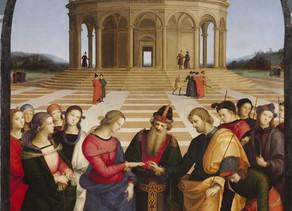 Desposorios de José con María