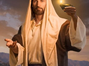 Él es la luz en las tinieblas