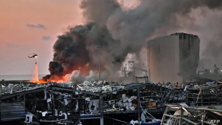 Beirut, libano, explosion puerto de beirut, blast beirut,