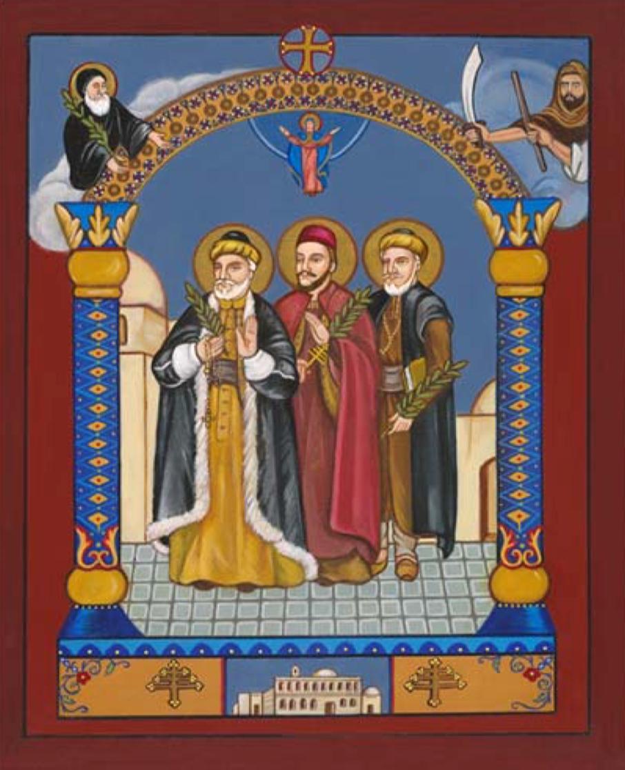 hermanos Massabki, Damasco, mártires, maronitas