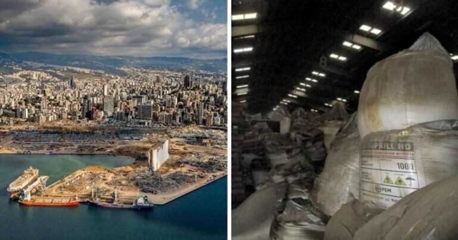 Explosión de Beirut, 4 de agosto de 2020
