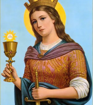 Fiesta de santa Bárbara
