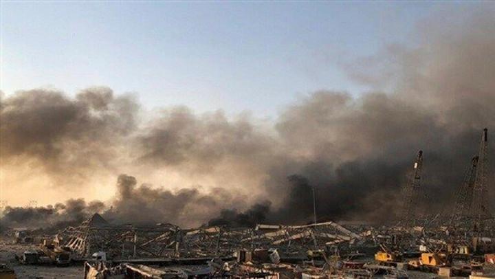 Explosión de Beirut, Líbano.