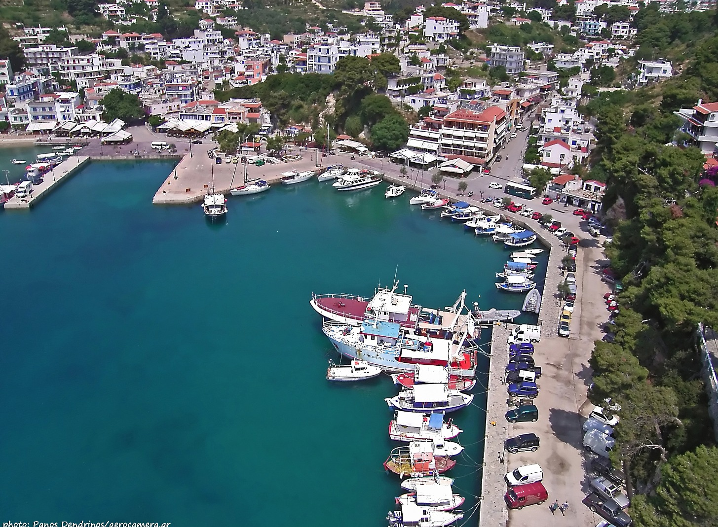 Aerial Photo of Patitiri, Alonissos
