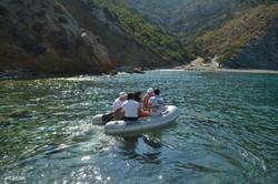 Accessing remote beaches