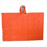 Poncho (Neon Orange)