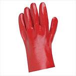 """PVC GLOVES RED SHORT 12"""""""