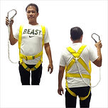 FULL BODY HARNESS WITH SINGLE BIG HOOK