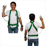 FULL BODY HARNESS WITH SINGLE SMALL HOOK