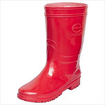 Women's Rubber Boots Red