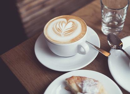 corações de café