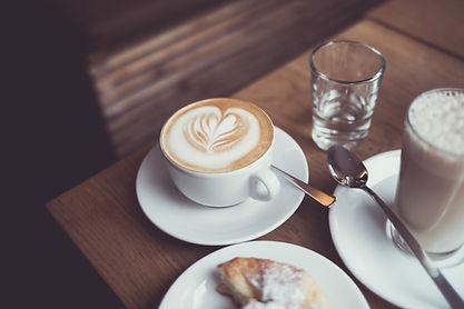 Corazones de café