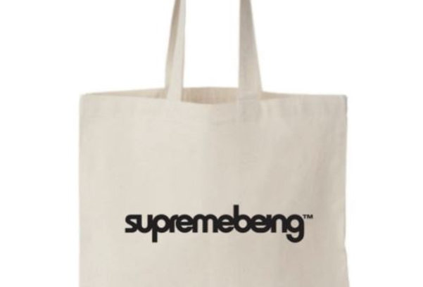 SUPREMEBEING TOTE BAG