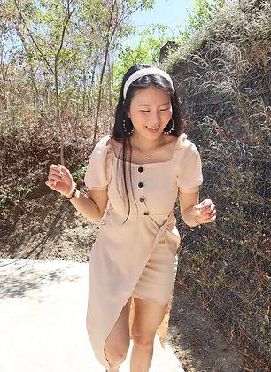 Kyomi - Split dress