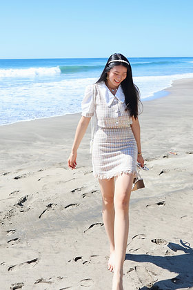Stacy plaid skirt