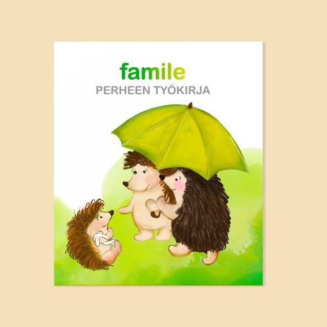 Famile-työkirjan kannet