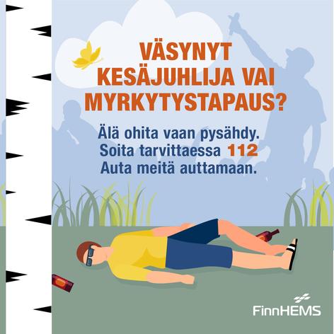 Infograafikampanja somessa kesällä 2018