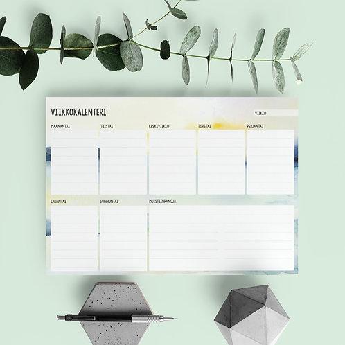 Viikkokalenteri / yritys